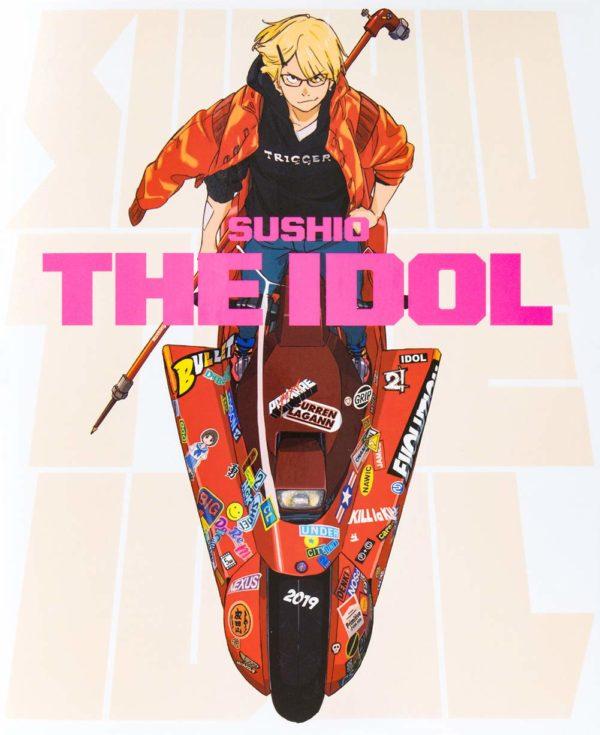 Artbook Libro Arte Sushi The Idol Chile Tienda Figuras Anime Santiago Gurren Laggan Kill la Kill