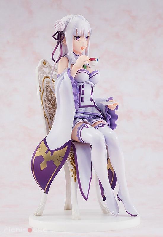 Figura KDcolle Re:ZERO Emilia Tea Party Tienda Figuras Anime Chile Santiago