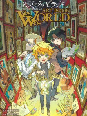 Artbook Libro Arte Yakusoku Promised Neverland Chile Tienda Figuras Anime Santiago