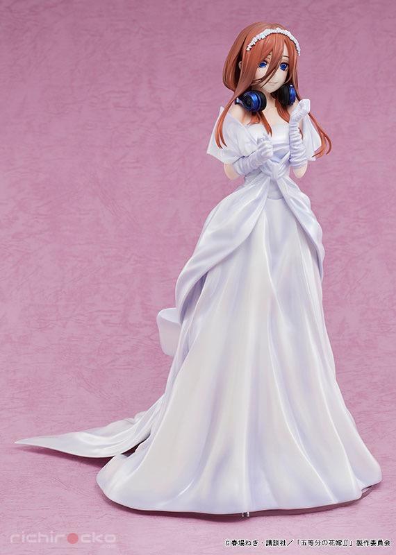 Figura The Quintessential Quintuplets 2 Miku Nakano Wedding Tienda Figuras Anime Chile Santiago