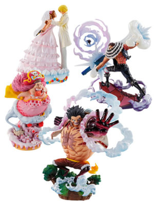 Figura One Piece Log Box Re Birth Whole Cake Big Mom Katakuri Luffy Sanji Pudding Tienda Figuras Anime Chile Santiago