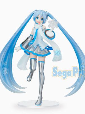 Figura Snow Miku Hatsuke Skytown SPM SEGA Vocaloid Tienda Figuras Anime Chile Santiago