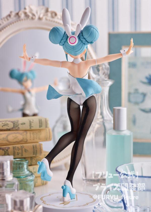 Figura Hatsune Miku Bicute Bunnies White FuRyu Vocaloid Tienda Figuras Anime Chile Santiago