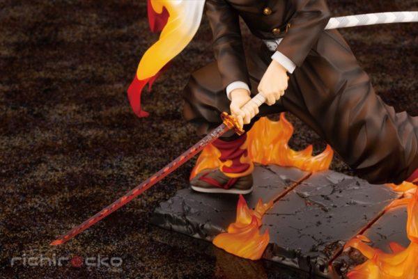 Figura ARTFX J Demon Slayer: Kimetsu no Yaiba Kyojuro Rengoku 1/8 Tienda Figuras Anime Chile Santiago