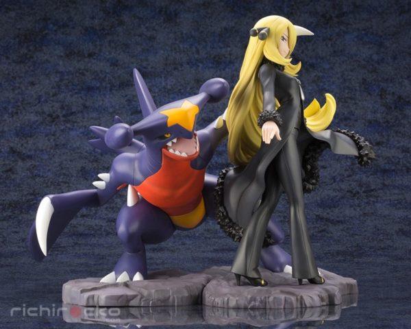 Figura ARTFX J Pokemon Cynthia Garchomp Tienda Figuras Anime Chile Santiago