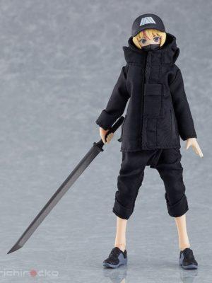 Figura figma Styles Female body (Yuki) with Techwear Outfit Tienda Figuras Anime Chile Santiago