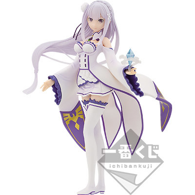 Figura Emilia Re:Zero Ichiban Kuji Banpresto Bandai Spirits Tienda Figuras Anime Chile Santiago