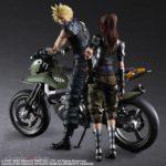 Figura Final Fantasy VII Remake PLAY ARTS Kai Jessie Cloud Bike SET Tienda Figuras Anime Chile Santiago