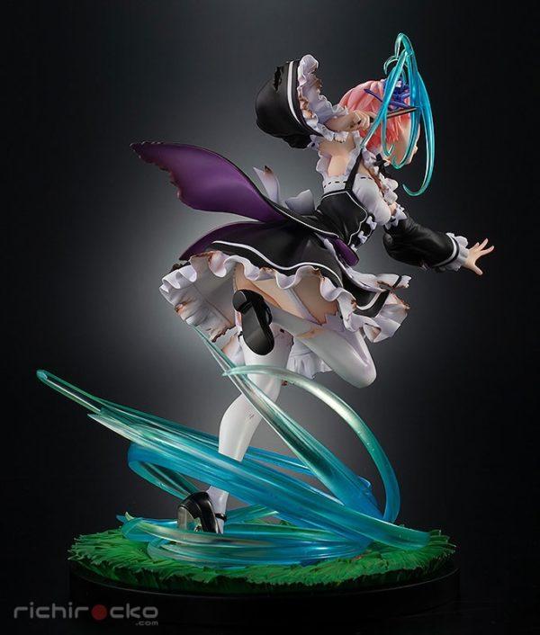 Figura KDcolle Re:ZERO Ram Battle with Roswaal Ver. 1/7 Tienda Figuras Anime Chile Santiago