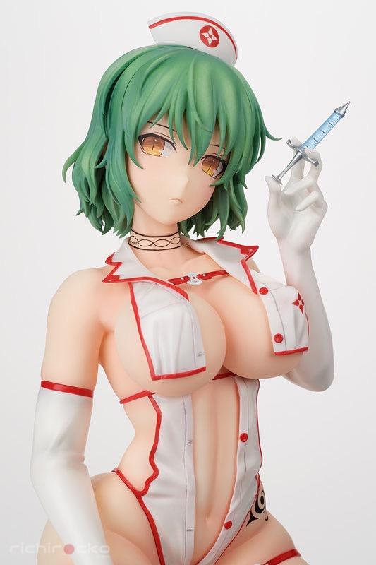 Figura Shinobi Master Senran Kagura New Link 1/4 Hikage Sexy Nurse ver Tienda Figuras Anime Chile Santiago