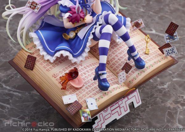 Figura No Game No Life Shiro Alice in Wonderland Ver. 1/7 Tienda Figuras Anime Chile Santiago