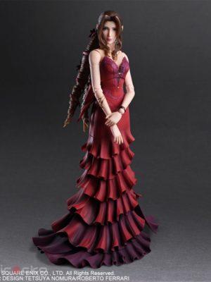 Figura Final Fantasy VII Remake PLAY ARTS Kai Aerith Gainsborough -Dress Ver.- Tienda Figuras Anime Chile Santiago