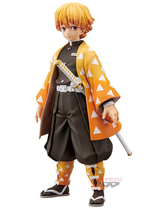 Figura Grandista Zenitsu Agatsuma Demon Slayer Kimetsu no Yaiba Tienda Figuras Anime Chile Santiago