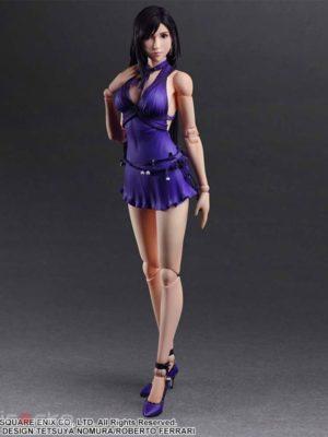 Figura Final Fantasy VII Remake PLAY ARTS Kai Tifa Lockhart -Dress Ver.- Tienda Figuras Anime Chile Santiago